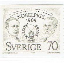 Guglielmo Marconi et Karl Ferdinand Braun, Prix Nobel en 1909