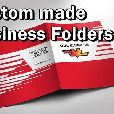 Folders - Custom made Document Organizers with your logo