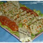 Terrine de thon aux légumes - Chez Vanda