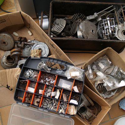Dé-stockage de pièces détachées