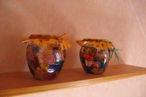 Pots à épices vitrail