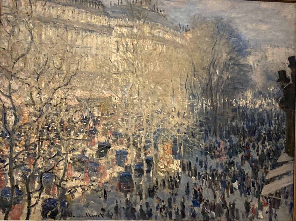Monet : Bd de Courcelles, Montgeron et pont de Waterloo