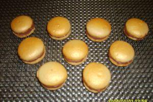 MES 1ERS MACARONS/GANACHE CHOCOLAT