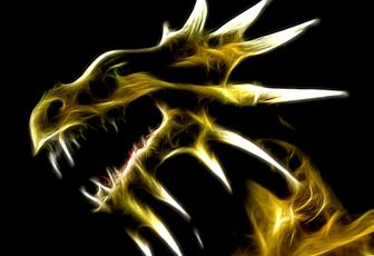 Luminescence du dragon