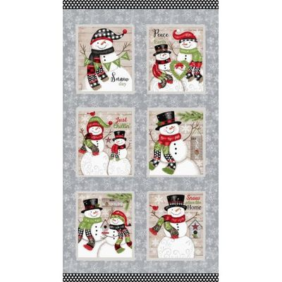 Collection de tissu patchwork Snow Place Like Home