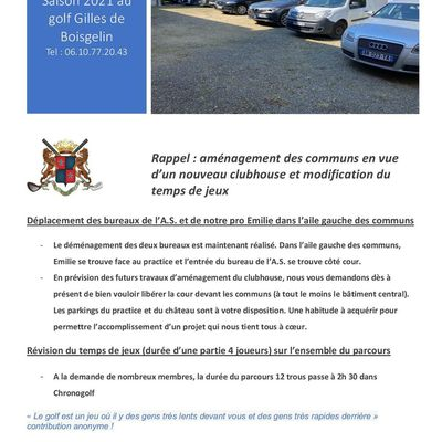 Amenagement des communs