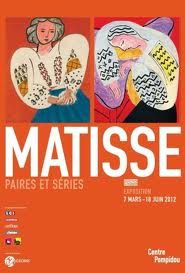 Matisse Paires et Séries : week-end culturel en perspective