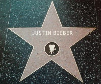 Justin Bieber: Walk of fame Star