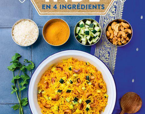 L'Inde en 4 ingrédients de Sandra Salmandjee