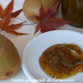 Confiture de kiwi et citron vert - Cuisine gourmande de Carmencita