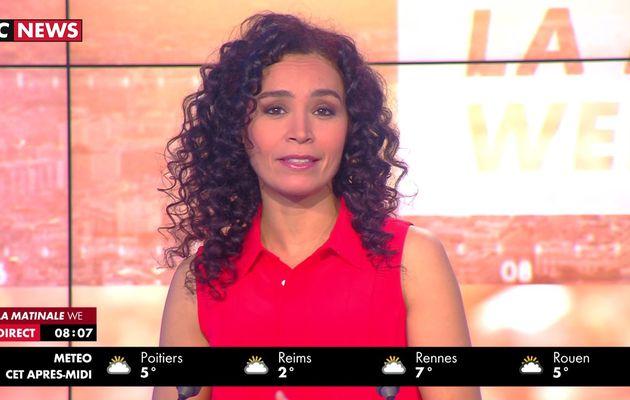 📸7 AIDA TOUIHRI @AidaTouihri @JohannaCarlosD8 ce matin @LaMatinaleWE @cnews #LaMatinaleWE #vuesalatele