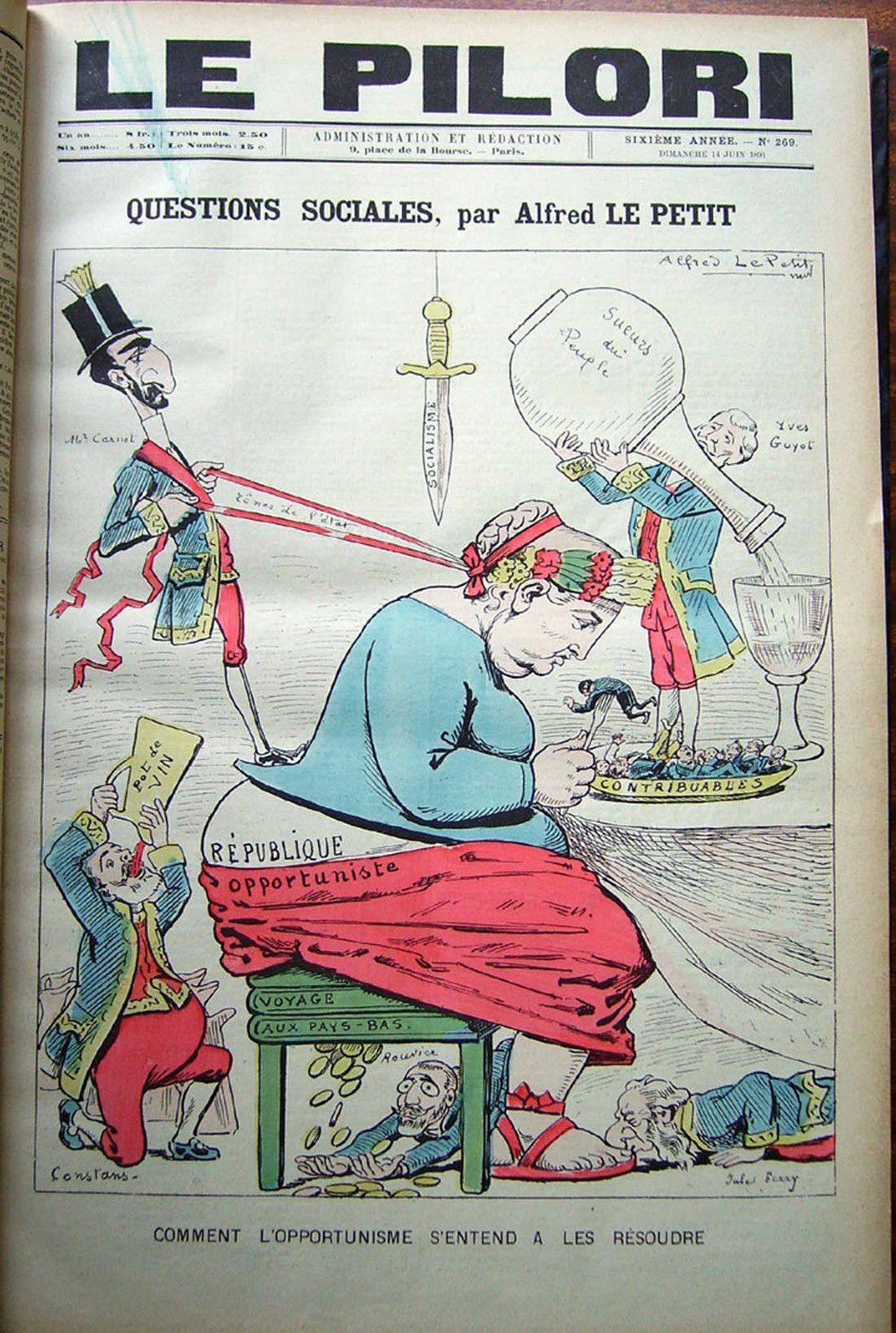 L'impôt dans la caricature, première tranche (par Daniel Dugne)