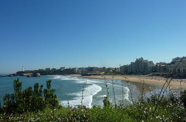 Biarritz en bleu