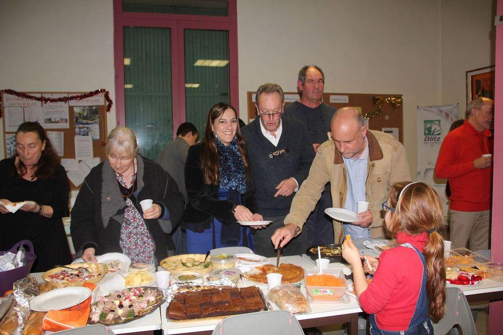 Diaporama : soirée de fin d'année à l'Echiquier Orangeois
