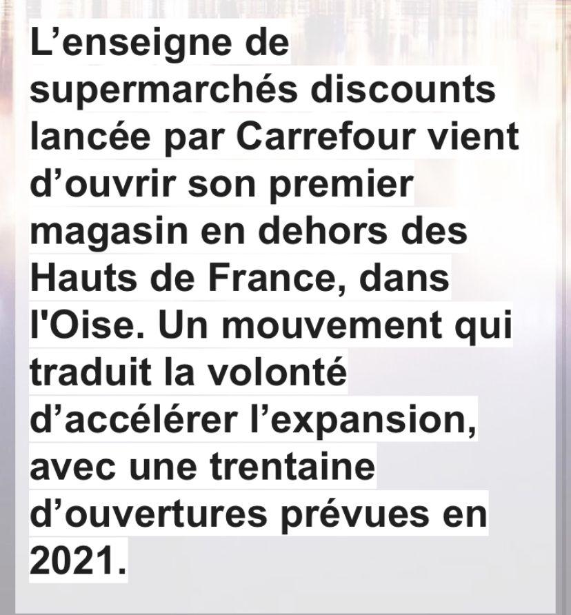 Carrefour ouvre son huitième Supeco,dans l'Oise