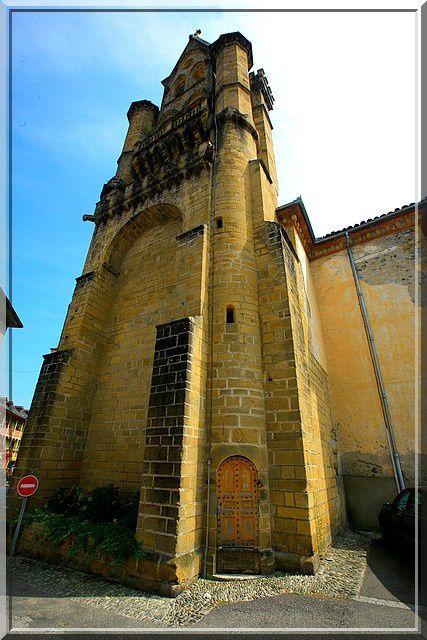 Diaporama église fortifiée de Seix