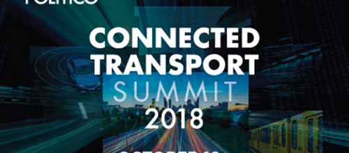 Connected Transport Summit 16 October 2018, Brussels