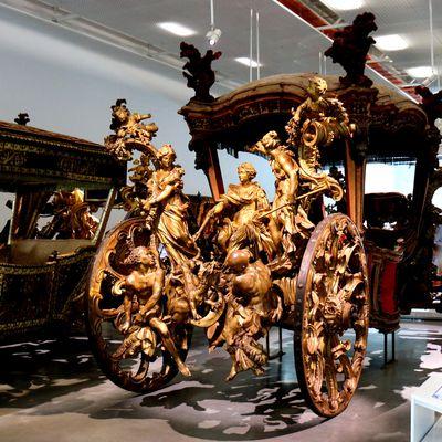 Carrosse du couronnement de Lisbonne, Musée des carrosses, Lisbonne (Portugal)