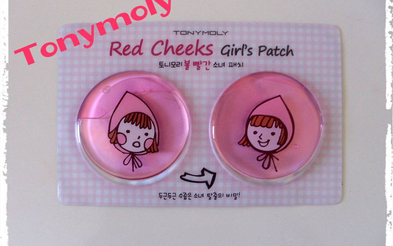 Red Cheeks Girl's Patch de Tonymoly : Adieu les joues Normandes !!