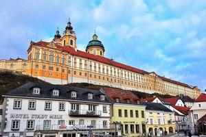 retour sur Vienne avec escale à Melk.
