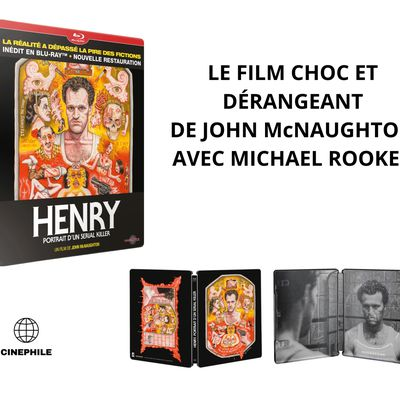"""""""HENRY, PORTRAIT D'UN SERIAL KILLER"""", BIENTÔT EN BLU-RAY STEELBOOK"""