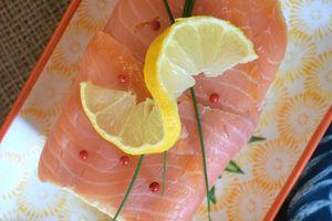 Terrine au saumon bardée de saumon fumé