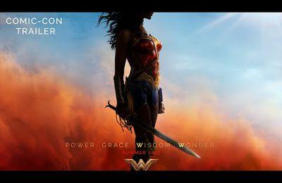 Un bon dimanche avec les premières images de WONDER WOMAN sortie 2017