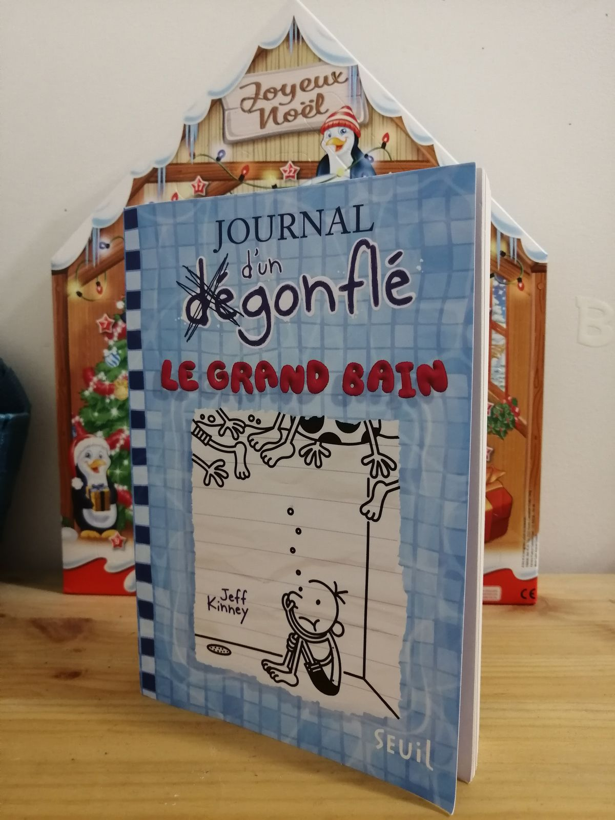 LE JOURNAL D'UN DEGONFLE de Jeff Kinney - Le Grand Bain