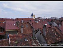 Des toits d'Annecy ...