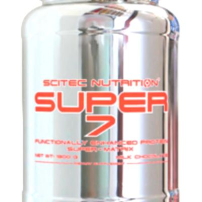 La Whey Proteine SUPER 7 de Scitec Nutrition, par Sébastien Dubusse, blog Musculation/Fitness Passion