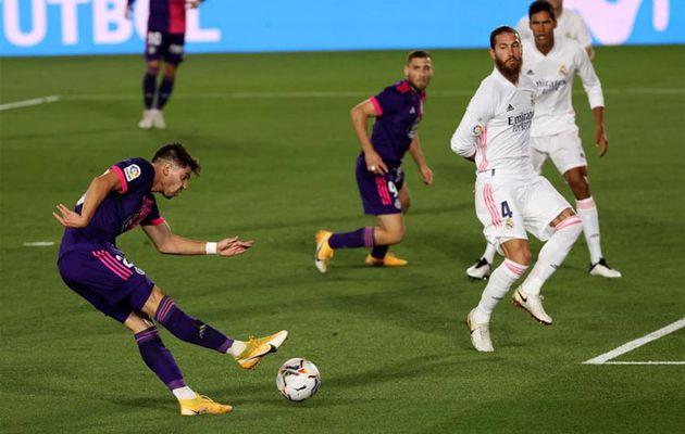 Real đã về với top La Liga vị thế thuở đầu