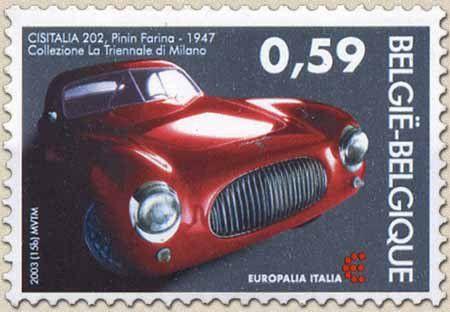 La Cisitalia 202 est une voiture italienne de 1947. C'est la première voiture au monde à être exposée depuis sa création au Museum of Modern Art de New York