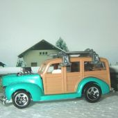 40S WOODIE HOT WHEELS 1/64 - FORD WOODY 1940 - car-collector.net