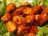 Dés de poulet caramélisés au gingembre