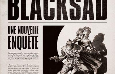 Blacksad - HORS-SÉRIE - Ed. Dargaud Tome 0 - What's News - À paraître le 27/11/2020Blacksad - HORS-SÉRIE - Ed. Dargaud Tome 0 - What's News - À paraître le 04/06/2021