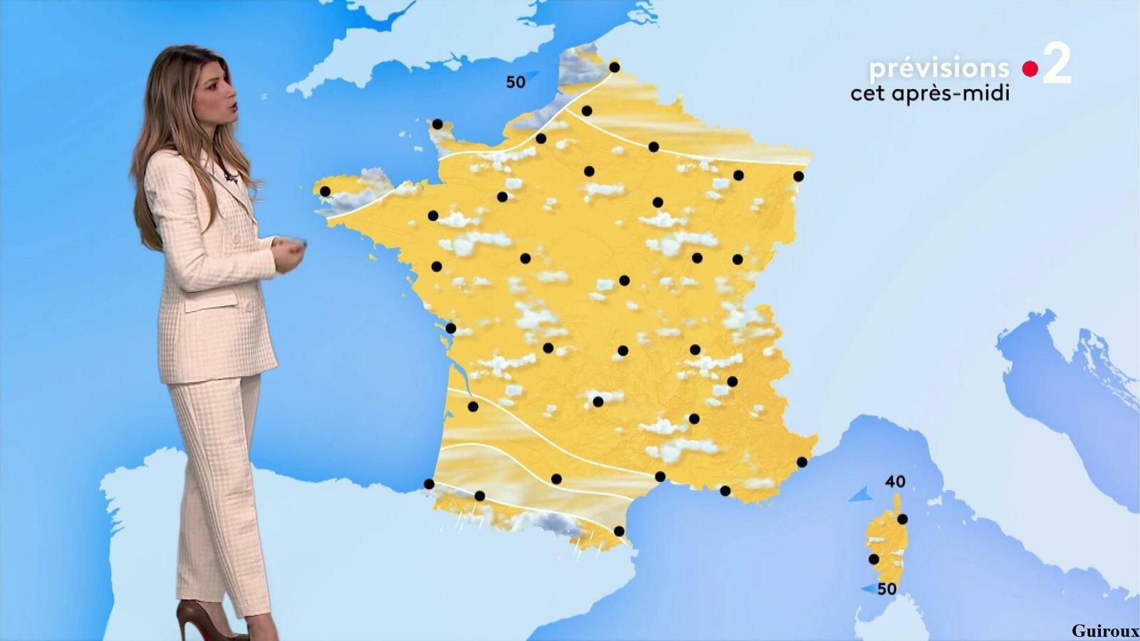 Chloé Nabédian 23/09/2021 Journaux météo du midi