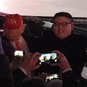 """JO 2018: """"Donald Trump"""" et """"Kim Jong-un"""" ont assisté à la cérémonie d'ouverture ensemble"""