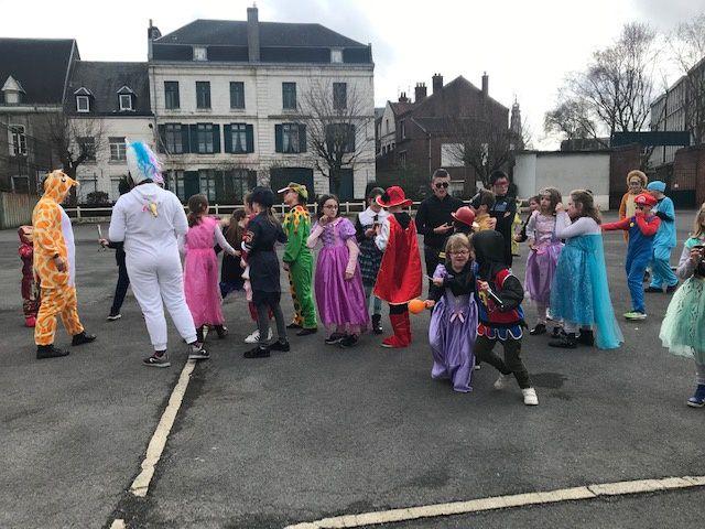 Carnaval au CEJS