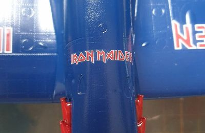 "Spitfire Mk.Ii ""Aces High"" Iron Maiden 1:32 - par ALAIN"