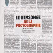 Mensonge et Photographie, un article de Réponses Photo qui a sa place ici ! - Le blog de Vincent Lefèvre