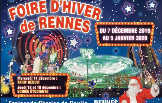 Inauguration Foire d' hiver Rennes 2019