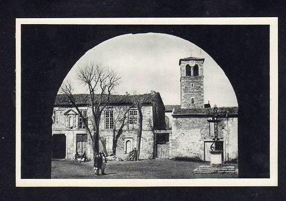 Cour principale, vues anciennes