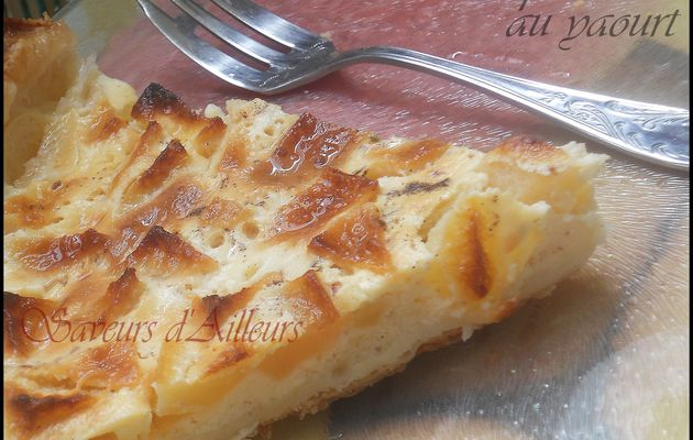 Tarte aux pommes au yaourt