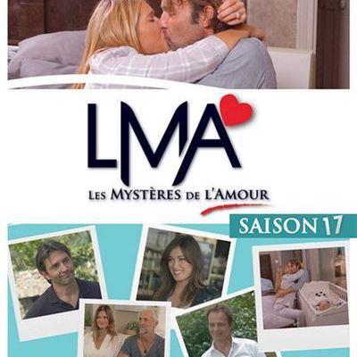 La saison 17 des Mystères de l'amour en DVD pour le 28 août prochain