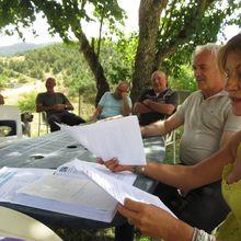 Saint André les Alpes:L'association de Courchons à l'heure du bilan