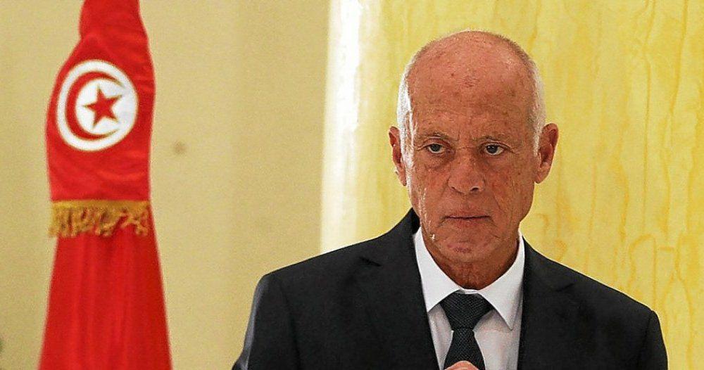 Kaïs Saïed, président élu en 2019 avec 72% des votes