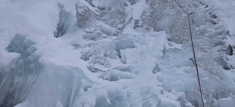 Peisey Nancroix : Cascade du Mône