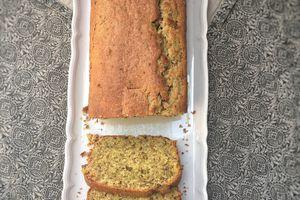 Cake moelleux à la pistache