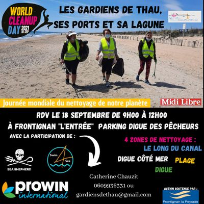 Le World Cleanup DAY arrive....