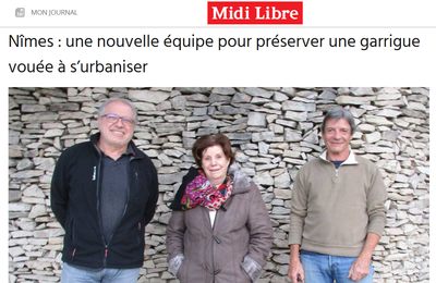 Midi Libre rend visite au Comité de Quartier de Villeverte